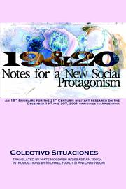 Cover of: 19 & 20: Notes for a New Social Protagonism