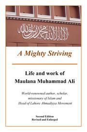 Cover of: A Mighty Striving