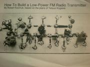 Cover of: how to build a low-power fm radio transmitter