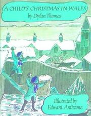 Cover of: Child's Christmas in Wales