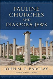 Cover of: Pauline churches and Diaspora Jews