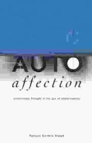 Cover of: Autoaffection: Unconscious Thought in the Age of Technology