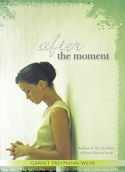 Cover of: After the Moment