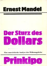 Cover of: Der Sturz des Dollars