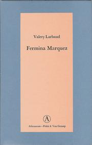 Cover of: Fermina Marquez