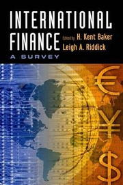 Cover of: Survey of international finance