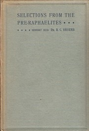 Cover of: Selections from the Pre-Raphaelites