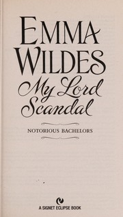 Cover of: My lord scandal