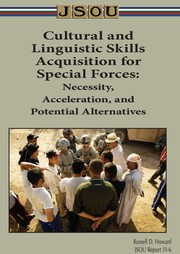 Cover of: Cultural and Linguistic Skills Acquisition for Special Forces