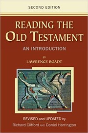 Cover of: Reading the Old Testament