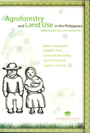 Cover of: Agroforestry and Land Use in the Philippines