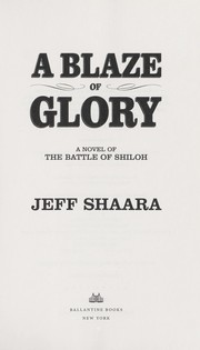 Cover of: A blaze of glory