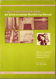 Cover of: Public Participation in EIA (Two Volumes)