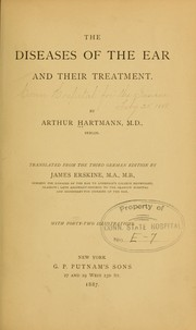 Cover of: The diseases of the ear and their treatment