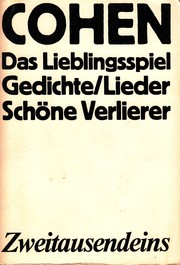 Cover of: Das Lieblingsspiel