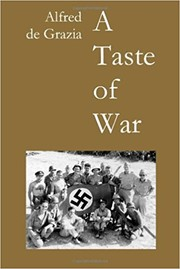 Cover of: A taste of war