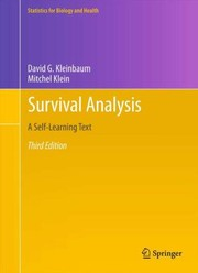 Cover of: Survival analysis