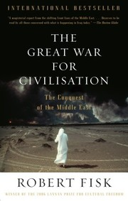 Cover of: The Great War for civilisation
