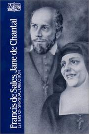 Cover of: Francis de Sales, Jane de Chantal