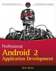 Cover of: Professional Android 2 application development