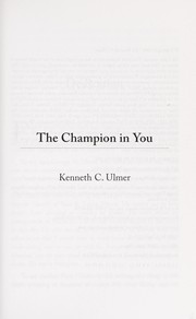 Cover of: The champion in you
