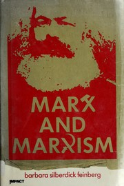 Cover of: Marx and Marxism