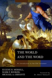 Cover of:  World and the Word: An Introduction to the Old Testament