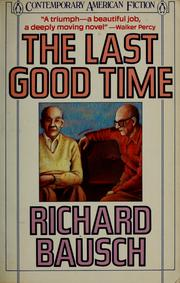 Cover of: The last good time