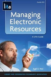 Cover of: Managing electronic resources