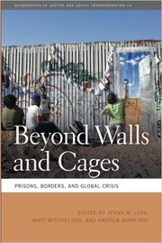 Cover of: Beyond walls and cages