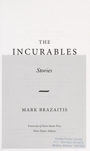 Cover of: The incurables