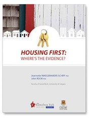 Cover of: Housing first - Where is the evidence?