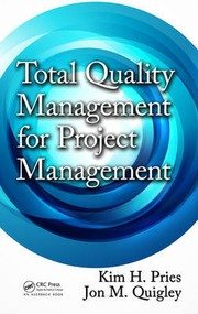 Cover of: Total quality management for project management