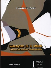 Cover of: Narradores en el umbral (Ensayos de narrativa contemporánea)