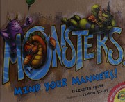Cover of: Monsters, mind your manners!