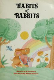 Cover of: Habits of rabbits