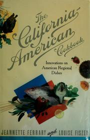 Cover of: The California-American cookbook