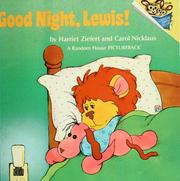 Cover of: Good night, Lewis!