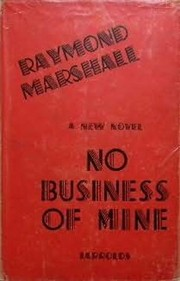 Cover of: No business of mine