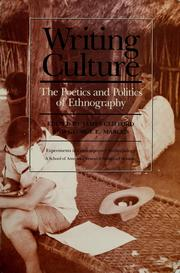 Cover of: Writing culture