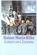 Cover of: Letters on Cézanne