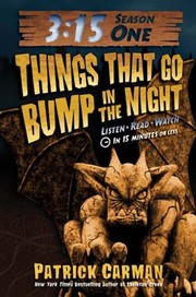 Cover of: Three Fifteen Season 1 Things that go Bump in the Night