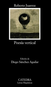 Cover of: Poesía vertical
