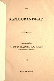 Cover of: Kena-Upanishad.