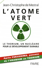 Cover of: L'atome vert