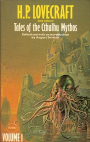 Cover of: Tales of the Cthulhu Mythos, Vol. 1