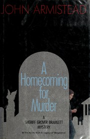 Cover of: A homecoming for murder
