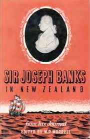 Cover of: Sir Joseph Banks in New Zealand: from his journal