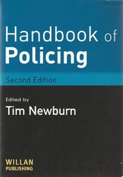 Cover of: Handbook of Policing