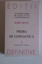 Cover of: Proba de gimnastică